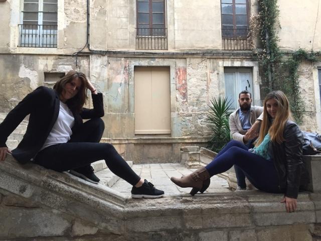 Cristina, Adrián y yo
